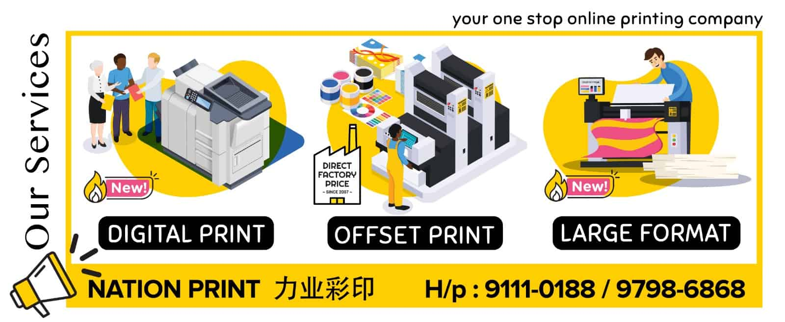 DigitalPrint-LargeFormatPrinting,OffsetPrinting