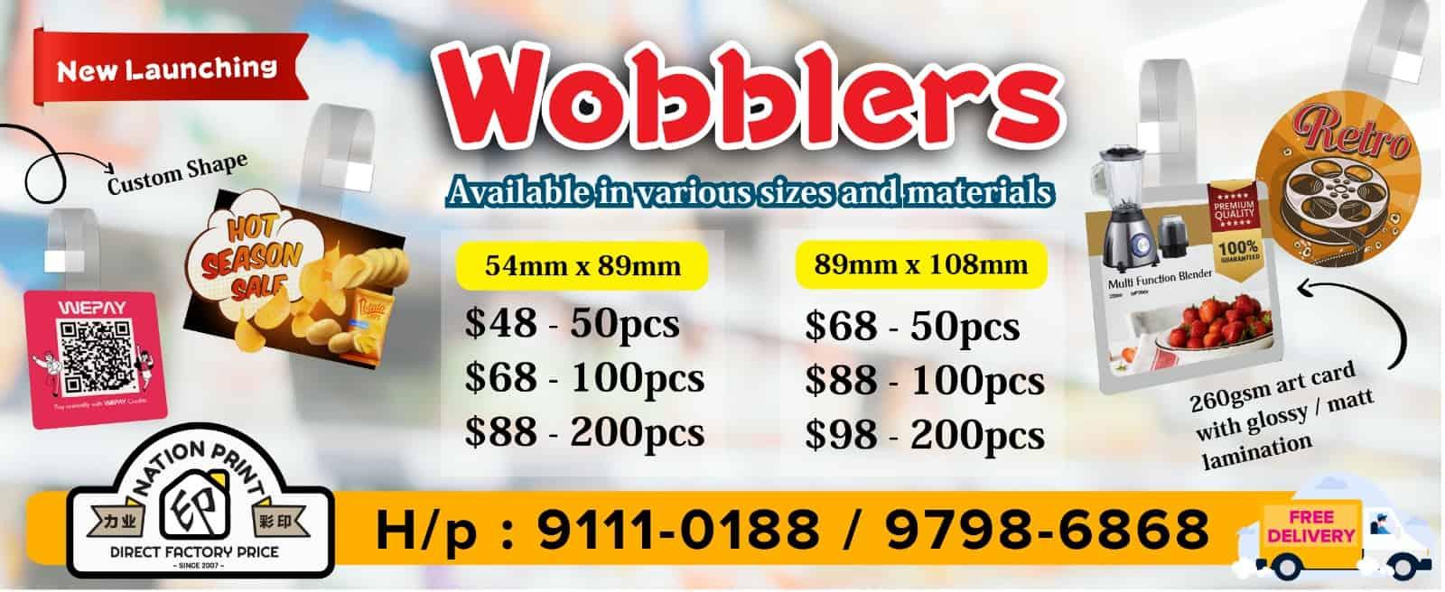 wobblers printing